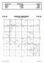 Lincoln Township Directory Map, Antelope County 2006